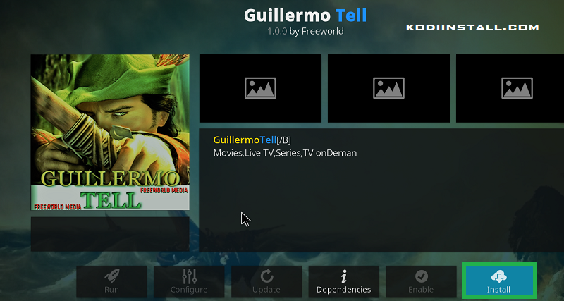 Guillermo Tell Addon